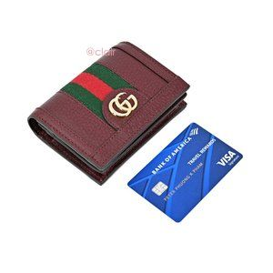 Gucci Bags - Gucci Ophidia Leather Bifold Wallet